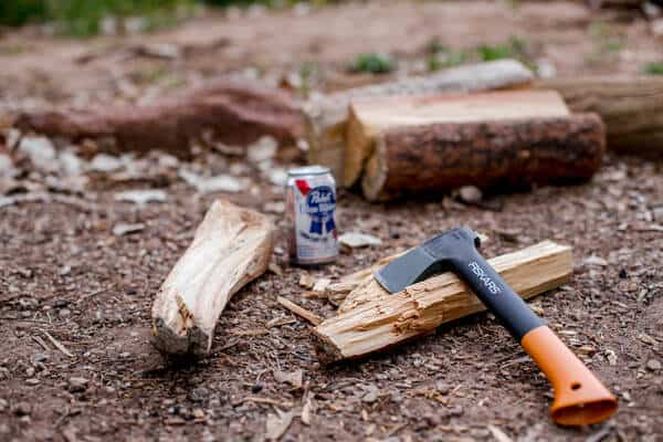 axed wood