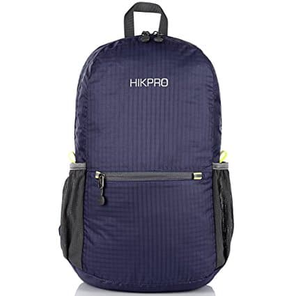 HIKPRO Ultra Lightweight Packable Hiking Daypack