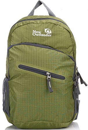 Outlander-20-by-33-Liter-Lightweight-Travel-Hiking-Backpack-Daypack