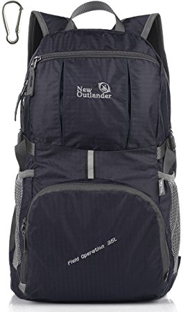Outlander-Packable-35-Liter-Travel-Hiking-Backpack-Daypack