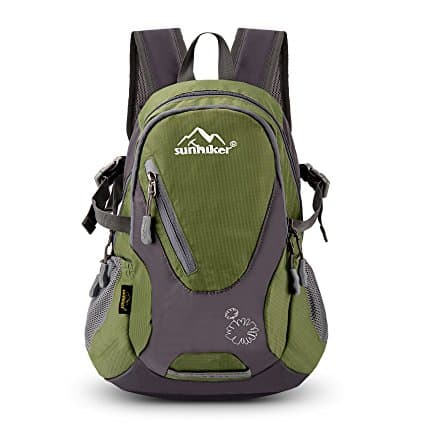 Sunhiker Lightweight Water Resistant Travel Backpack