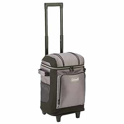 Coleman 42-Can Wheeled Soft Cooler With Hard Line
