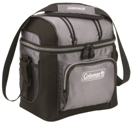 Coleman 9-Can Soft Cooler with Hard Liner