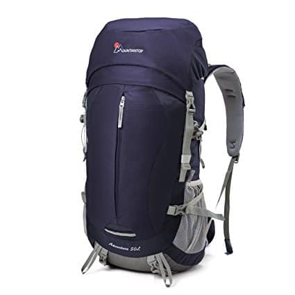 Mountaintop 50L Outdoor Sport Water-resistant Internal Frame Backpack Hiking Backpack