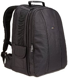 AmazonBasics DSLR and Laptop Backpack