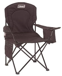 Coleman Oversized Quad Chair with Cooler - a camping must-have