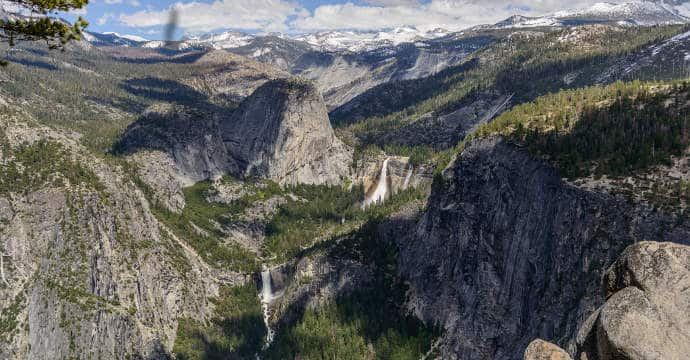 Liberty-Cap-Nevada-Falls-and-Vernal-Falls-from-Panorama-Trail-Yosemite
