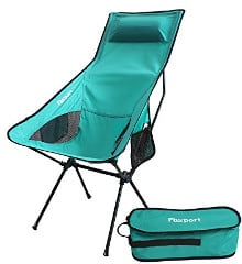 Lightweight Folding Camping/Backpack Chair by FB Sport