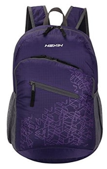 HEXIN Rated 20L/33L Lightweight Foldable Backpack