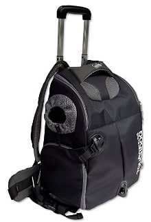 Touchdog Wuffle Duffle Wheeled Backpack/Pet Carrier