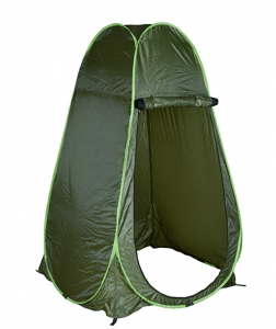 TMS Portable Green Outdoor - toilet tent