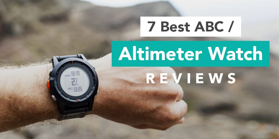 7 Best ABC Altimeter Watch Reviews