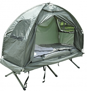 Outsunny Tent Cot With Air Mattress
