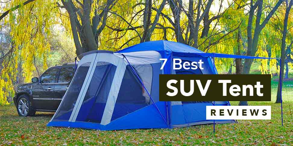 7 Best SUV Tent Reviews