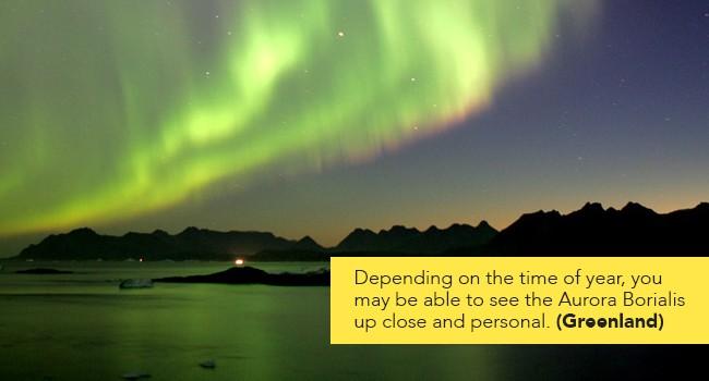Aurora Borialis Greenland