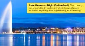 Lake Geneva Switzerland