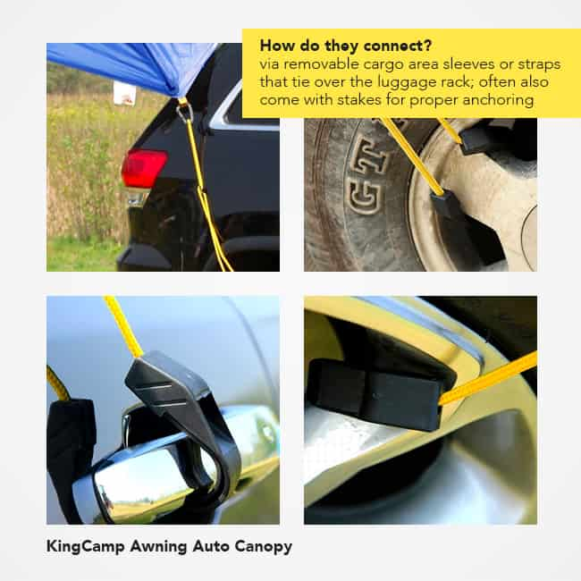 best suv tent - different views