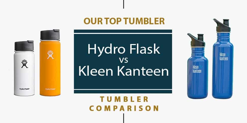 Hydro Flask vs Kleen Kanteen