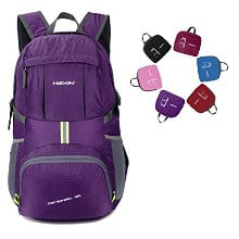 Hexin Lightweight Packable Durable Waterproof Travel Backing Daypack for  Men and Women 0a9f3bcb07