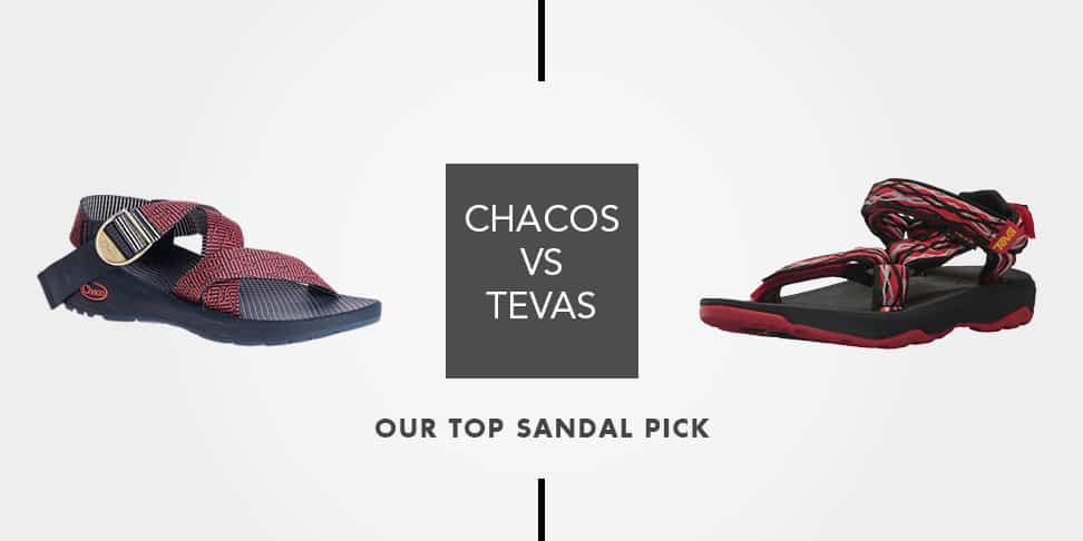 aa64f326c873 Are They Worth It  Chacos vs Tevas -The Top Rated Hiking Sandals