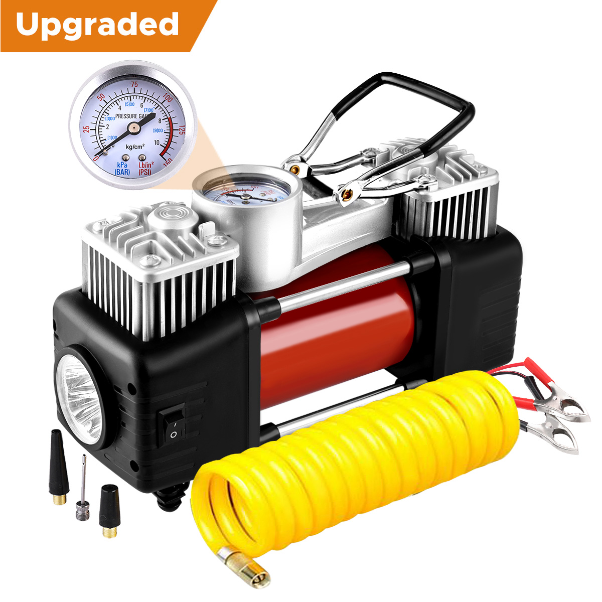 Audew Dual Cylinder Air Compressor Pump