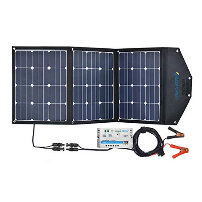 Acopower 120W Portable Solar Panel
