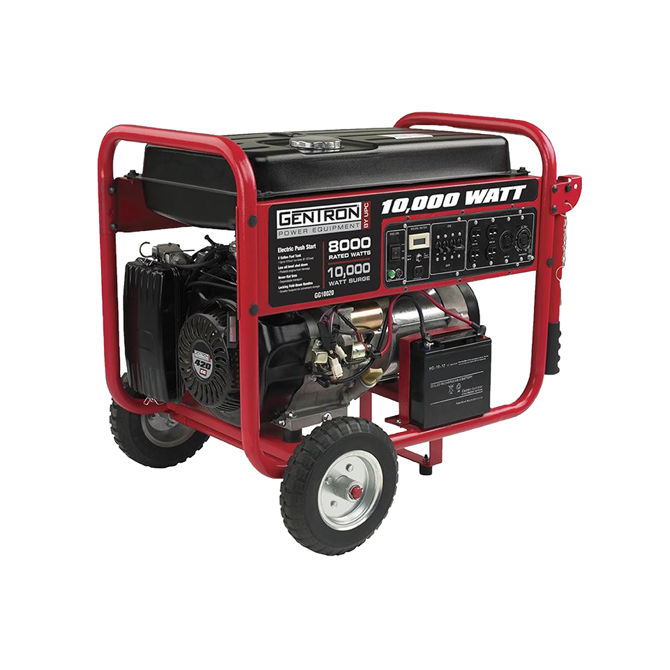 Gentron GG10020 Gas Powered Portable Generator