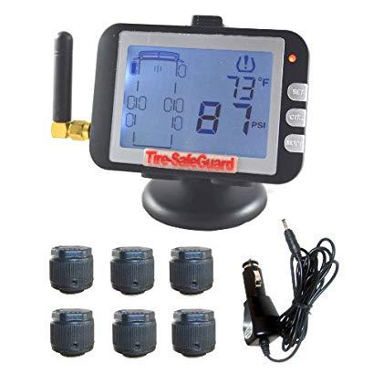Tire-Safeguard 6 Tire Cap Sensor Tire Pressure Monitoring System