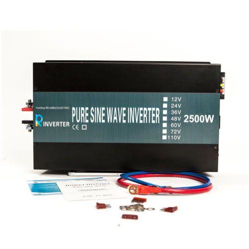 WZRELB True Pure Sine Wave Solar Power Inverter